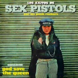 Los Punk Rockers - Los Exitos De Sex Pistols (LP, Album, Unofficial)