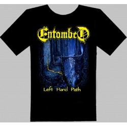 ENTOMBED-Left hand path-TSHIRT-