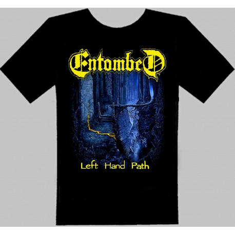 ENTOMBED-Left hand path-TSHIRT-
