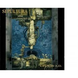 Sepultura - Chaos A.D. (CD, Album, RE)