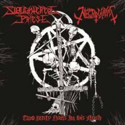 """Slaughtered Priest / Necrochakal  SPLIT 7""""EP"""