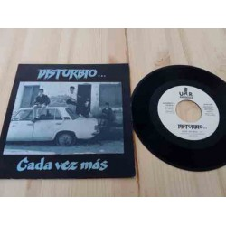 "Disturbio - Cada Vez Mas (7"", S/Sided, Single, Promo)"