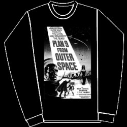 Plan 9 from the outer space-sweatshirt-