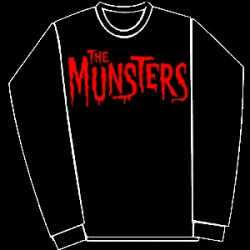 The Munsters -logo-sweatshirt-