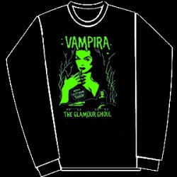 VAMPIRA- green- sweatshirt-