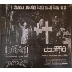 "CARBONIZED-UTUMNO-AFFLICTED-EDGE OF SANITY""Swedish demo tape"" LP"